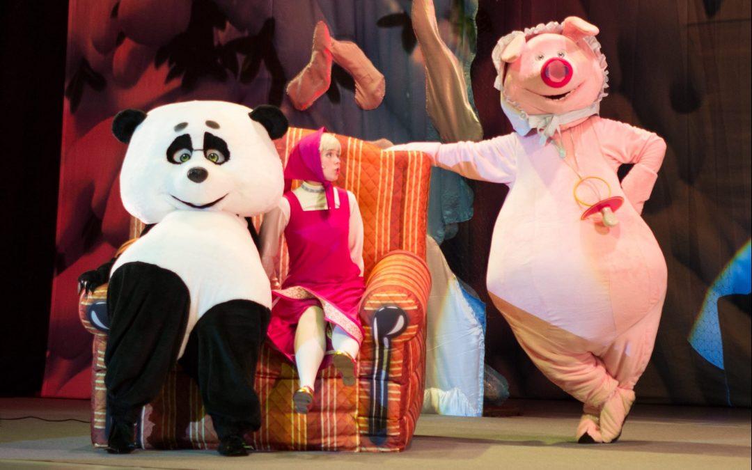 Masha és a medve közkívánatra Szombathelyen is!